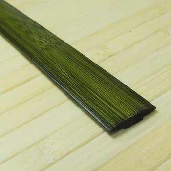 Стыковочная планка из бамбука зелёная
