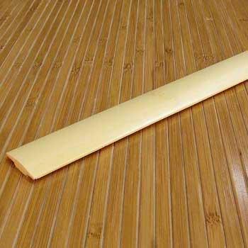 Стыковочная планка из бамбука натуральная