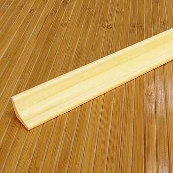 Плинтус из бамбука натуральный