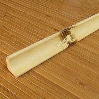 Плинтус из бамбука натуральный с рисунком
