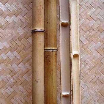 Половинка бамбука стандарт 4 - 5 см