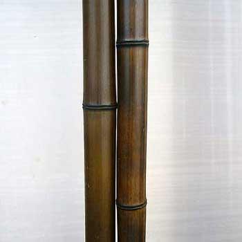 Половинка бамбука шоколад 3 - 4 см