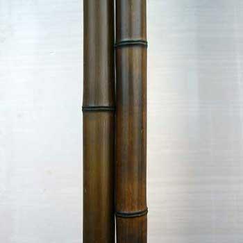 Половинка бамбука шоколад 5 - 6 см
