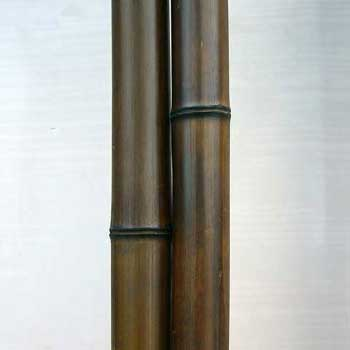 Половинка бамбука шоколад 6 - 7 см