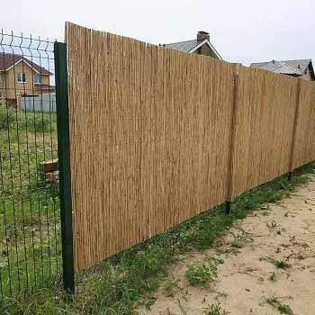 Тростниковый забор 200 x 300 см