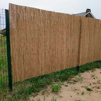 Тростниковый забор 180 x 600 см