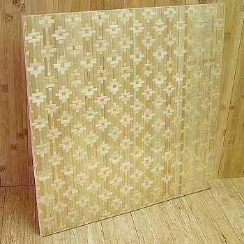 Панель бамбуковая однослойная цветы