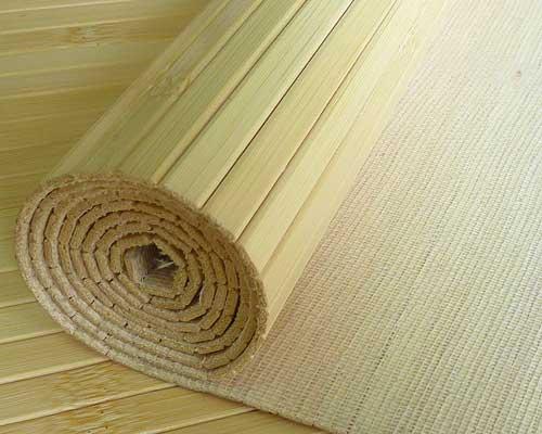 Бамбуковые обои натуральные