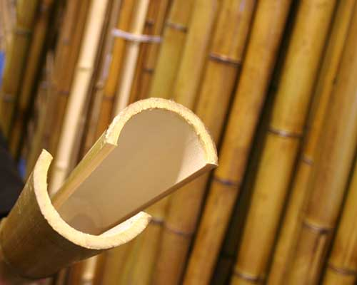 Половинки бамбука