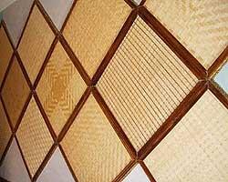 Декоративные панели из бамбука