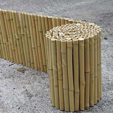 Бамбуковые заборы и изгороди