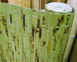 Бамбуковые обои из внешней планки бамбука
