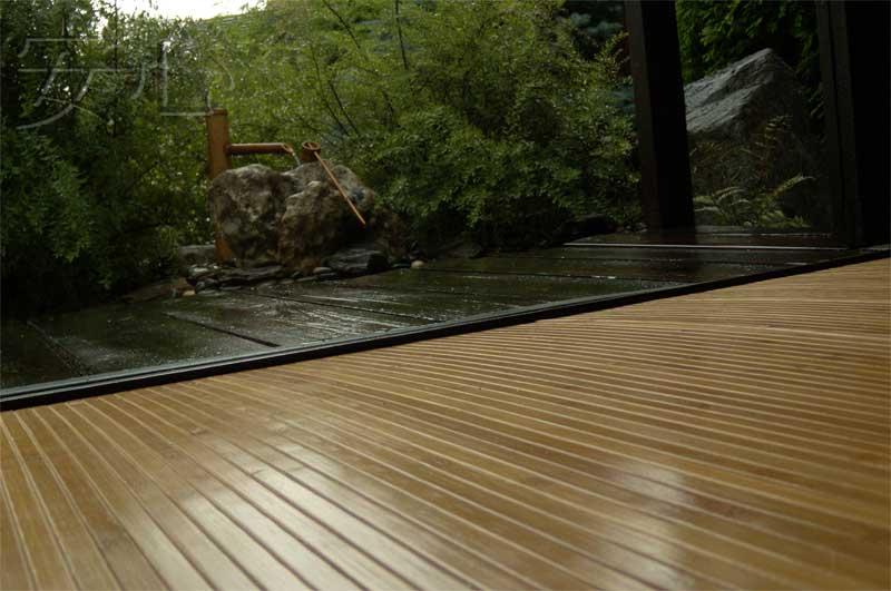 Напольное покрытие из бамбука