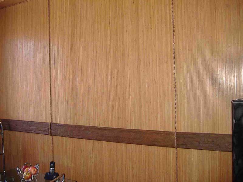 Бамбуковое полотно коньяк