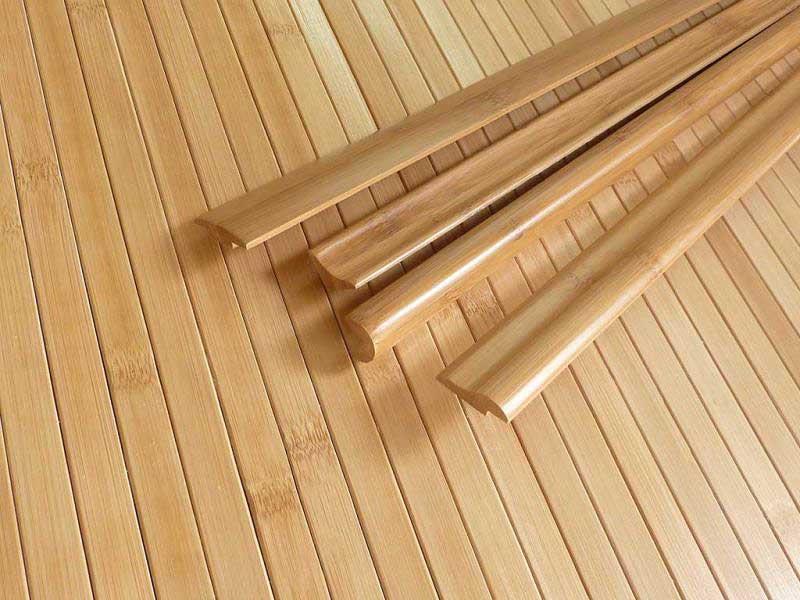 Бамбуковые планки и молдинги
