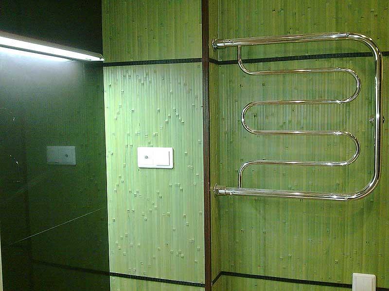 Бамбуковое полотно ЛАЙМ в интерьере