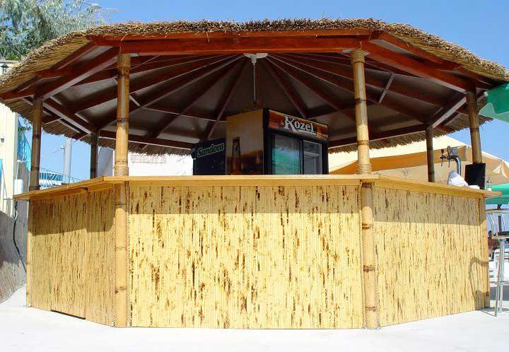 Бамбуковые обои из внешней части бамбука