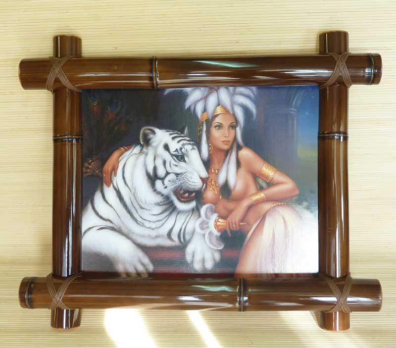 Бамбуковая картина