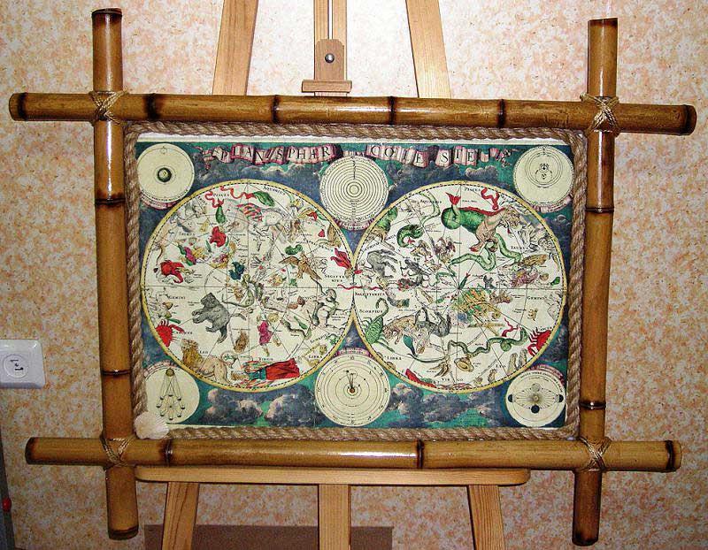 Рамка из бамбука
