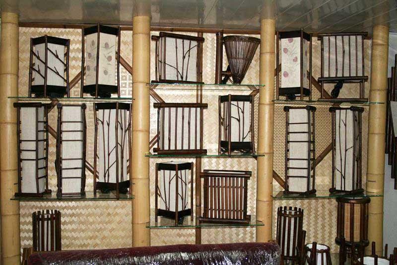 Бамбук в качестве стойки