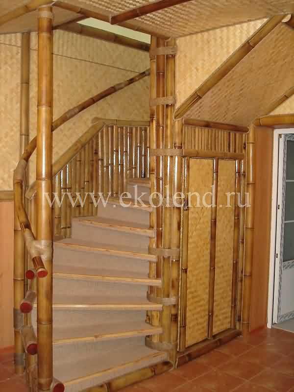 Бамбук в интерьере дома фото