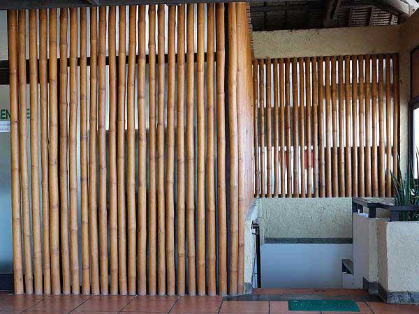 Бамбук в интерьере ресторана _1