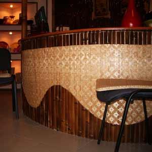 Бамбуковые панели и бамбуковые рейки