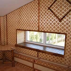Бамбуковые панели в доме