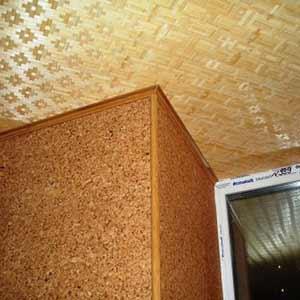 Бамбуковая панель ЦВЕТЫ