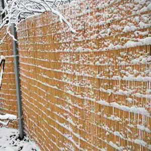 Однослойные маты в зимних условиях