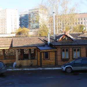 Камышовая крыша в<br />оформлении кафе
