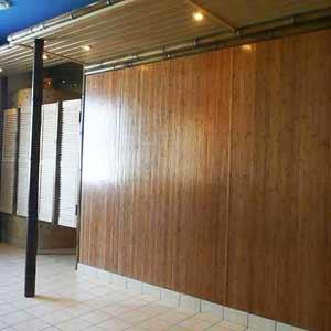 Обои бамбуковые кофе на<br />стене