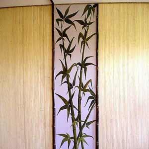 Бамбуковые обои натуральные 11 мм 200 см
