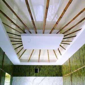 Бамбуковое полотно и бамбук в дизайне