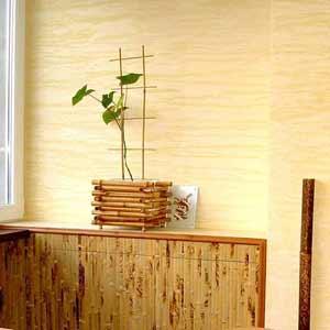 Обои из внешней части<br />бамбука