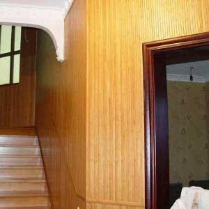 Бамбуковое полотно натуральное в интерьере