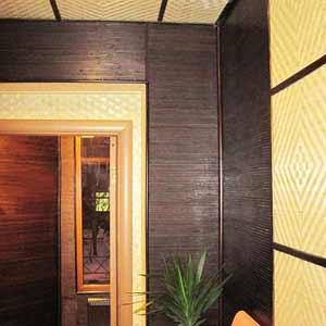 Бамбуковые обои Венге и бамбуковые панели