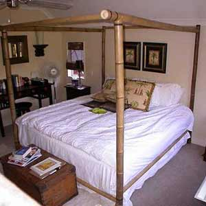 Бамбуковая кровать