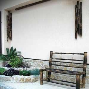 Бамбук шоколад. Декор.<br />Мебель.
