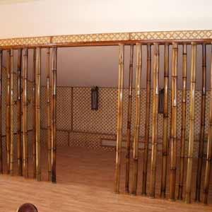 Перегородка из<br />натурального бамбука