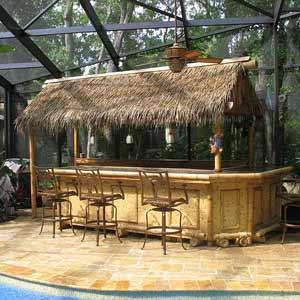 Бамбук, бамбуковые обои и<br />пальмовые листья