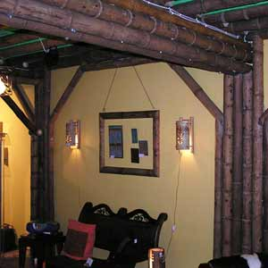 Панамский бамбук в<br />оформлении магазина