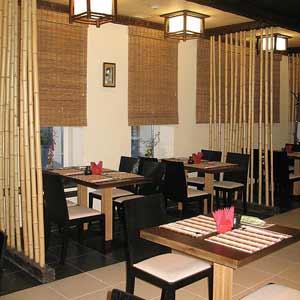 Бамбук и бамбуковые жалюзи в оформлении