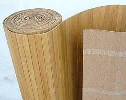 Бамбуковые обои кофе, тон 1
