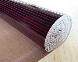 Бамбуковые обои венге