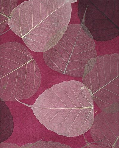 Натуральные обои Листья PWF-65