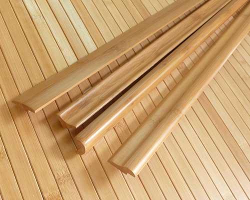 Планки, плинтуса, рейки из бамбука