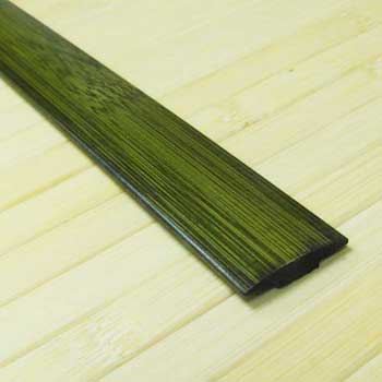Планка из бамбука стыковочная зелёная