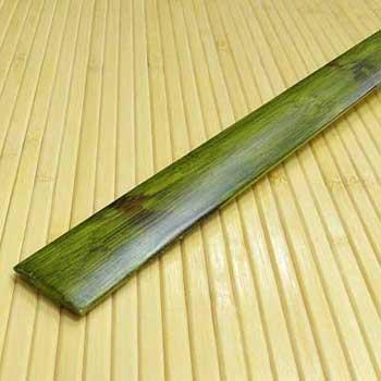 Планка из бамбука стыковочная зелёная черепаха