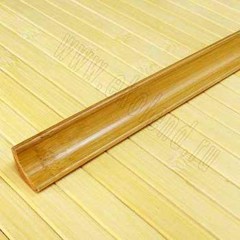 Плинтус из бамбука Кофе. Тон 1.